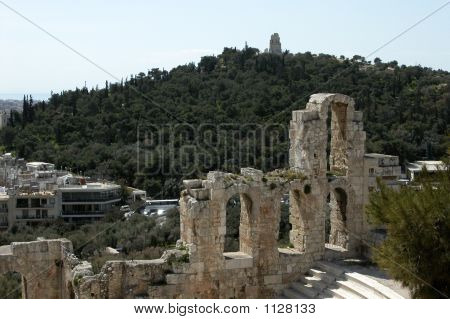 Herodion At Acropolis (Athens)