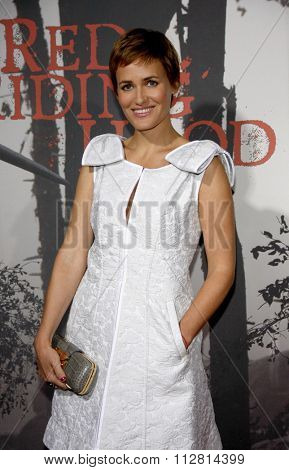 Judith Godreche at the Los Angeles Premiere of