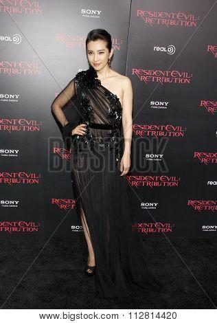 Li Bingbing at the Los Angeles premiere of