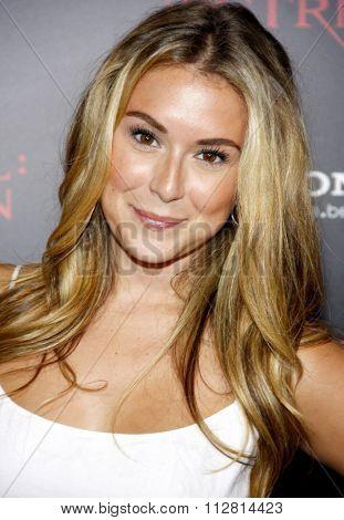 Alexa Vega at the Los Angeles premiere of