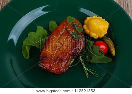 Roasted Duck Breast