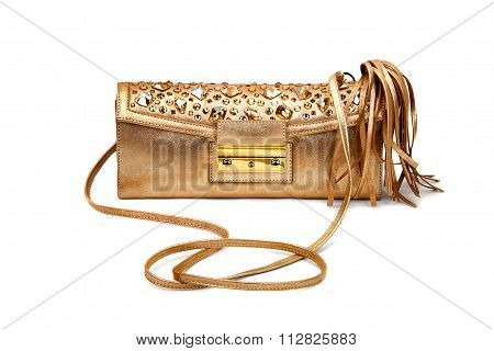Golden Female Bag