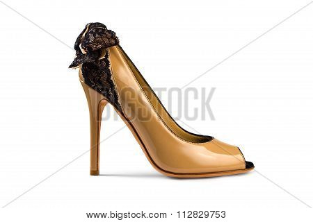 Yellow-brown Female Shoe
