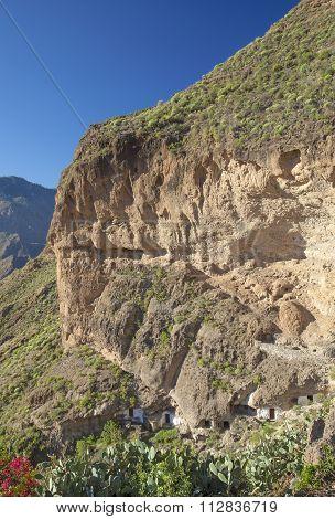 Inland Gran Canaria, Cave Village Acusa Seca