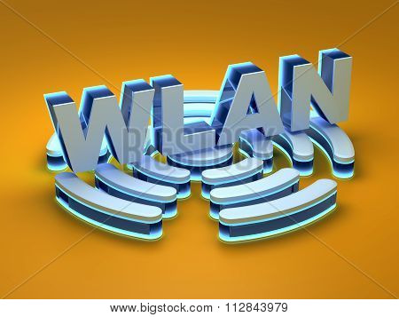 WLAN - (wireless local area network)
