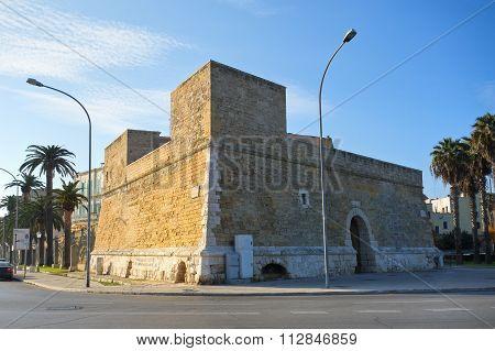 Blockhouse of Sant'Antonio. Bari. Puglia. Italy.