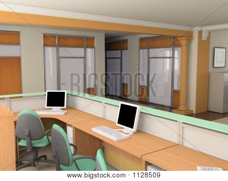 The Modern Office Interio
