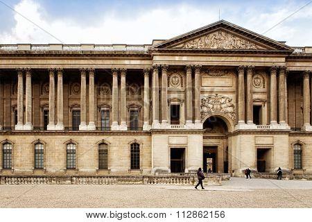 Paris, France: Ministry Of Justice In Paris