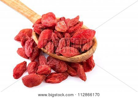 Goji Berries Close-up