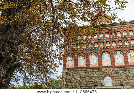 Bucharest, Romania - November, 10: Silver Knife Church On November 10, 2015 In Bucharest, Romania. B