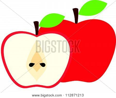 Apple concept vector illustration