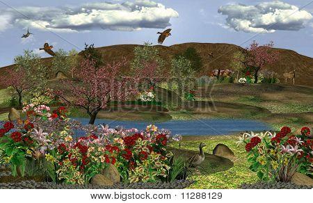 Small Golden Lake