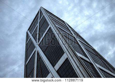 Kio Tower In Madrid, Seen From Below