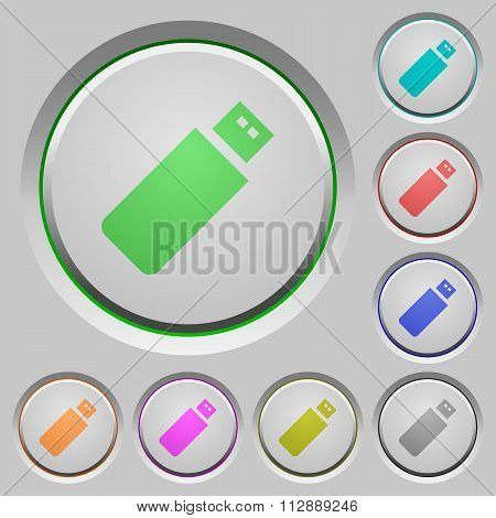 Pendrive Push Buttons