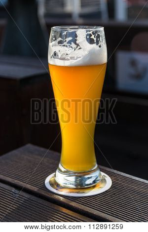 A Glass Of German Weiss Beer