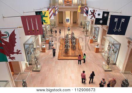 New York Museum Visitors
