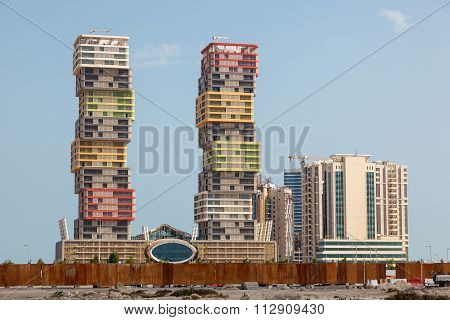 Lusail Marina Twin Tower In Doha