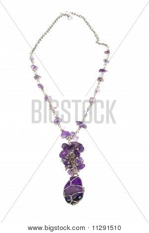 Amethystneckless On The White