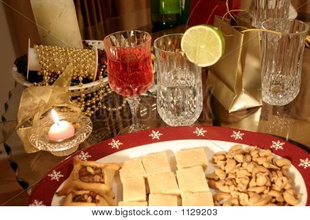 Christmas And New Year Dinner