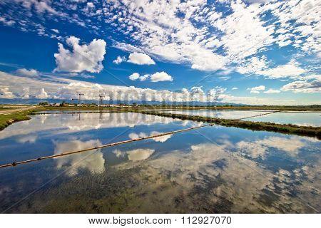 Salt Production Fields Of Nin