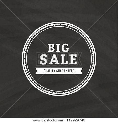 Big Sale Label