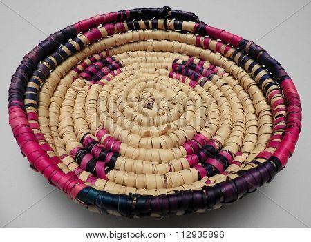 Handwoven Haitian Basket