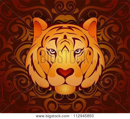Tiger as symbol for year 2010