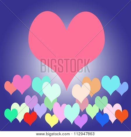 Heart Background from MadBill