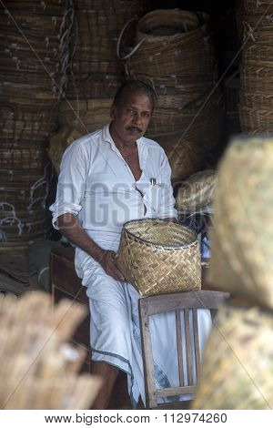Bamboo Basket Manufacturer In Varkala, India