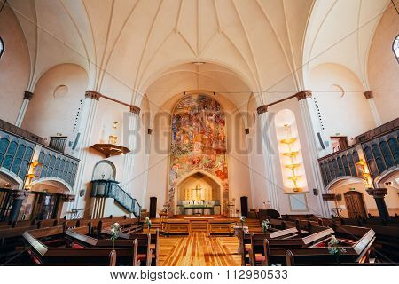 Sofia Church named after the Swedish queen Sophia of Nassau, is one of the major churches in Stockho