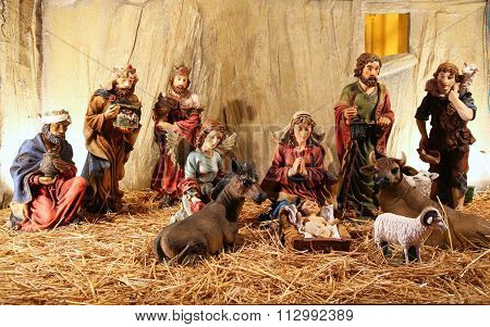 Figurines Of Even Birth Of Jesus