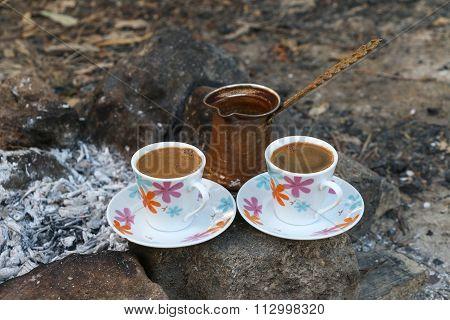 Ember Turkish coffee.
