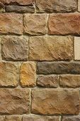 rustic stone wall close up. abstract textured background. poster
