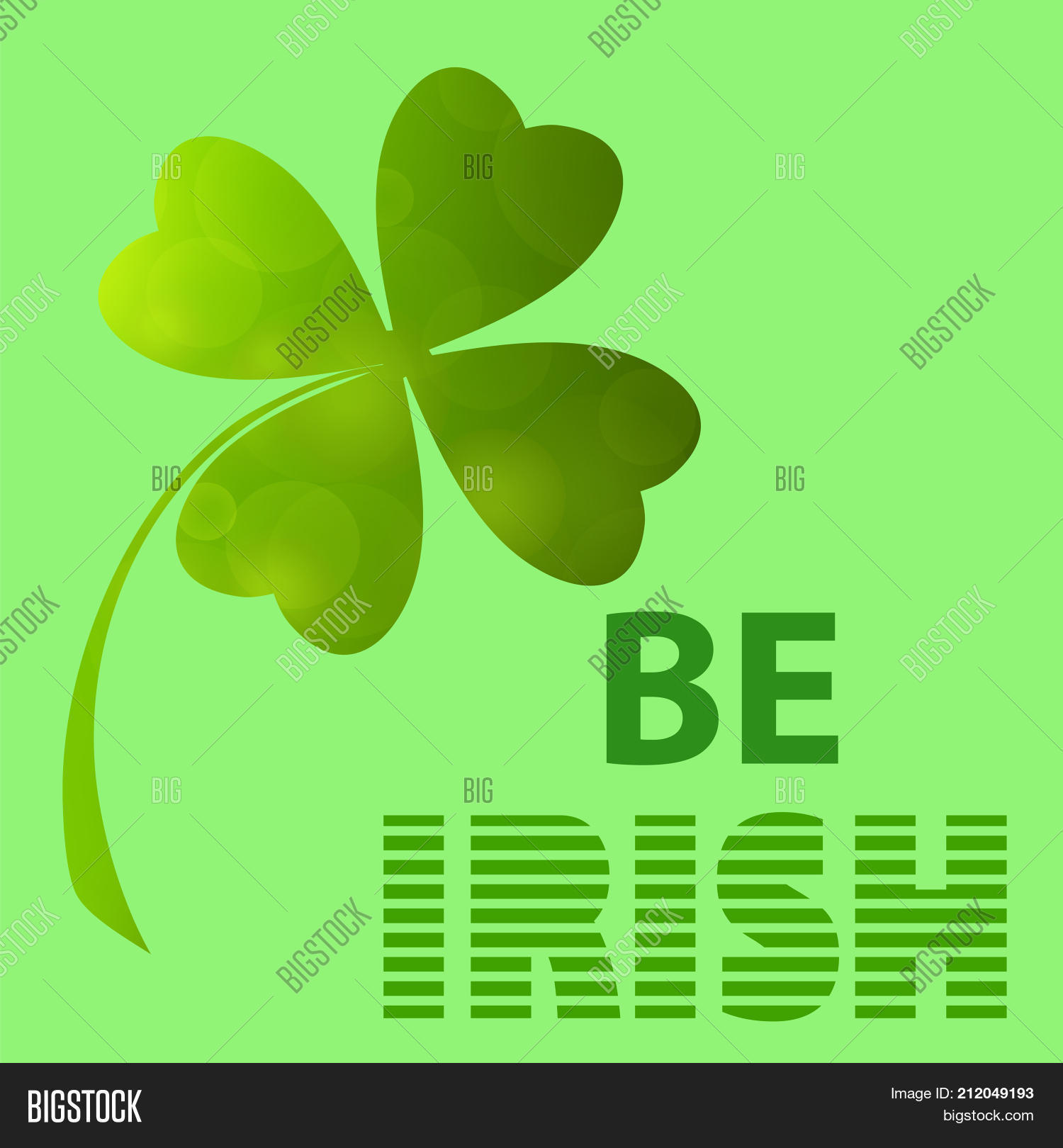 Four Leaf Clover Image Photo Free Trial Bigstock