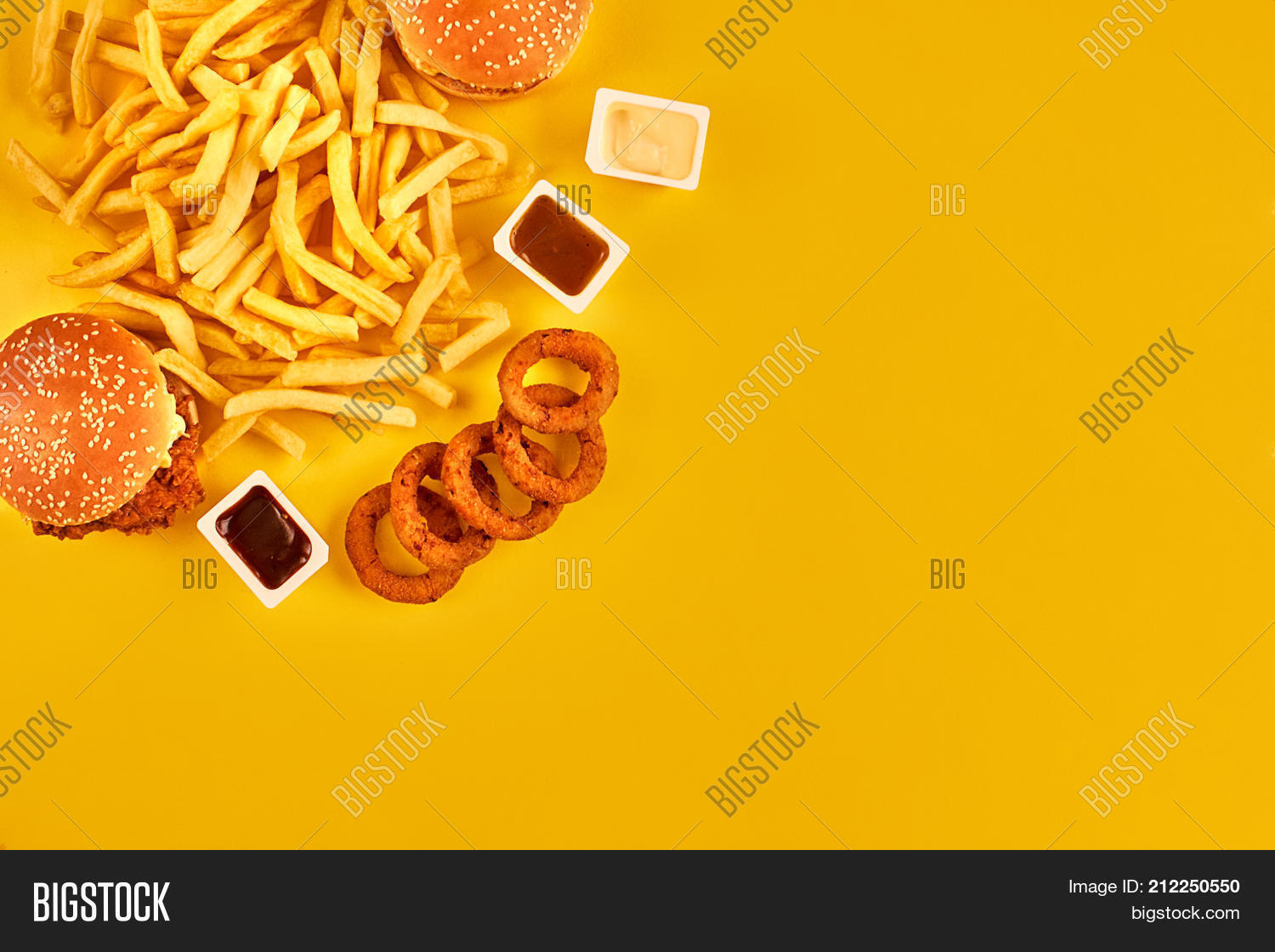 Fast Food Concept Image Photo Free Trial Bigstock