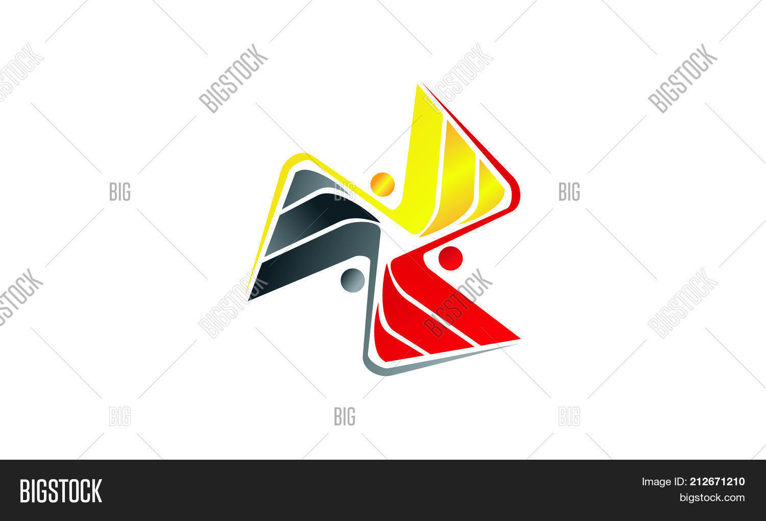 Synergy Teamwork Success Coaching Vector & Photo | Bigstock