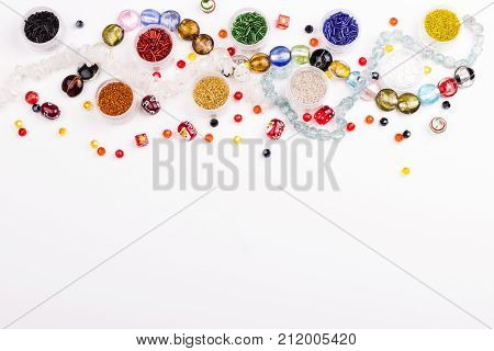 Glass Beads For Christmas Decoration
