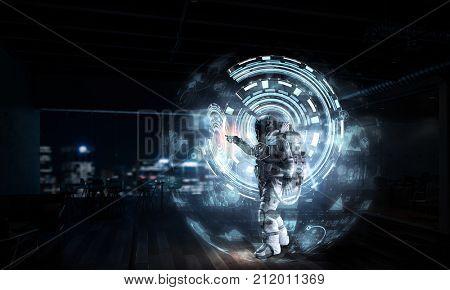Science and media technologies. Mixed media