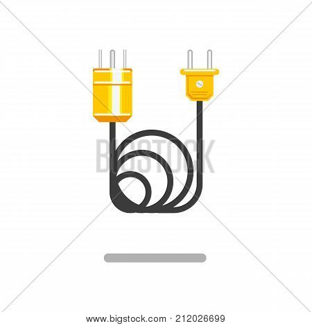 Vector Flat Electric Vector & Photo (Free Trial) | Bigstock