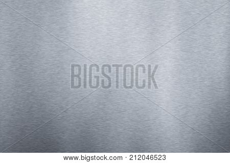An image of a typical brushed steel texture