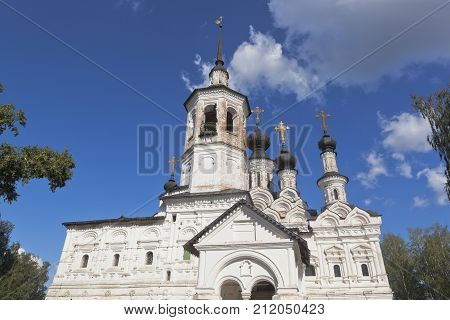 Church of the Ascension in Veliky Ustyug, Vologda region, Russia