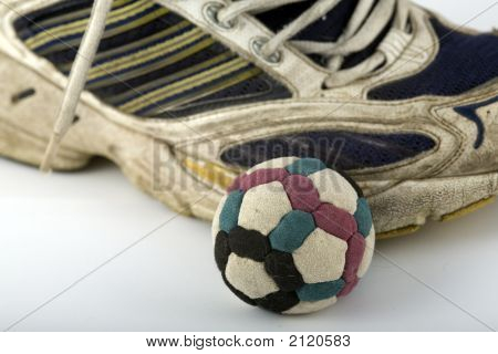 Footbag And Shoe  Right