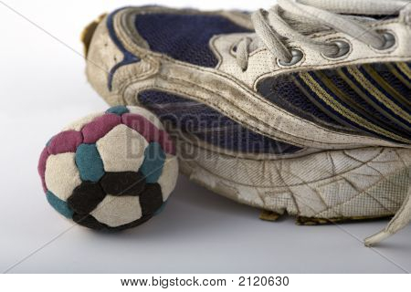 Footbag And Shoe  Left