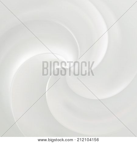 Cream Top Swirl Texture Of Cosmetic Moisturizer Vector Background