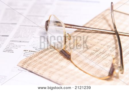 Eyeglasses And Business