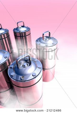 Cryogenic Canister