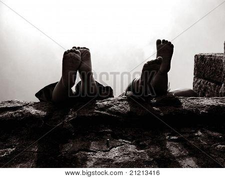 Little Hanging Feet