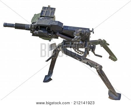 the grenade launcher isolated on white background