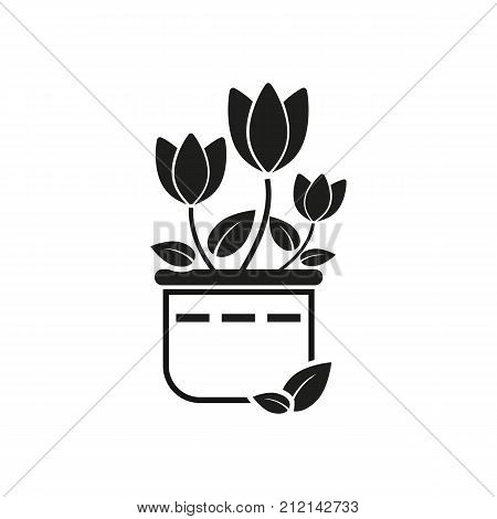 Wedding flowers vector icon. Celebration, decoration, ceremony. Wedding concept. Can be used for topics like marriage, love, family.