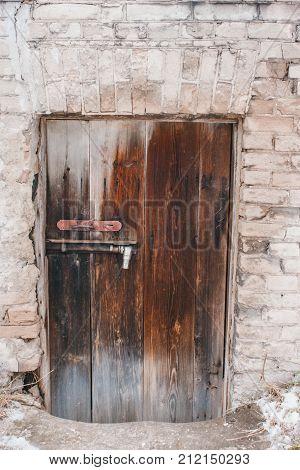 Old Wooden Doors. Old Wooden Barn Door